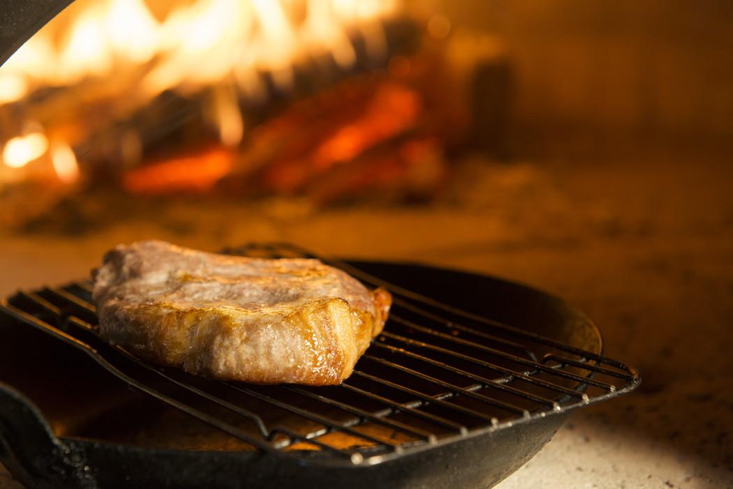 窯焼き料理