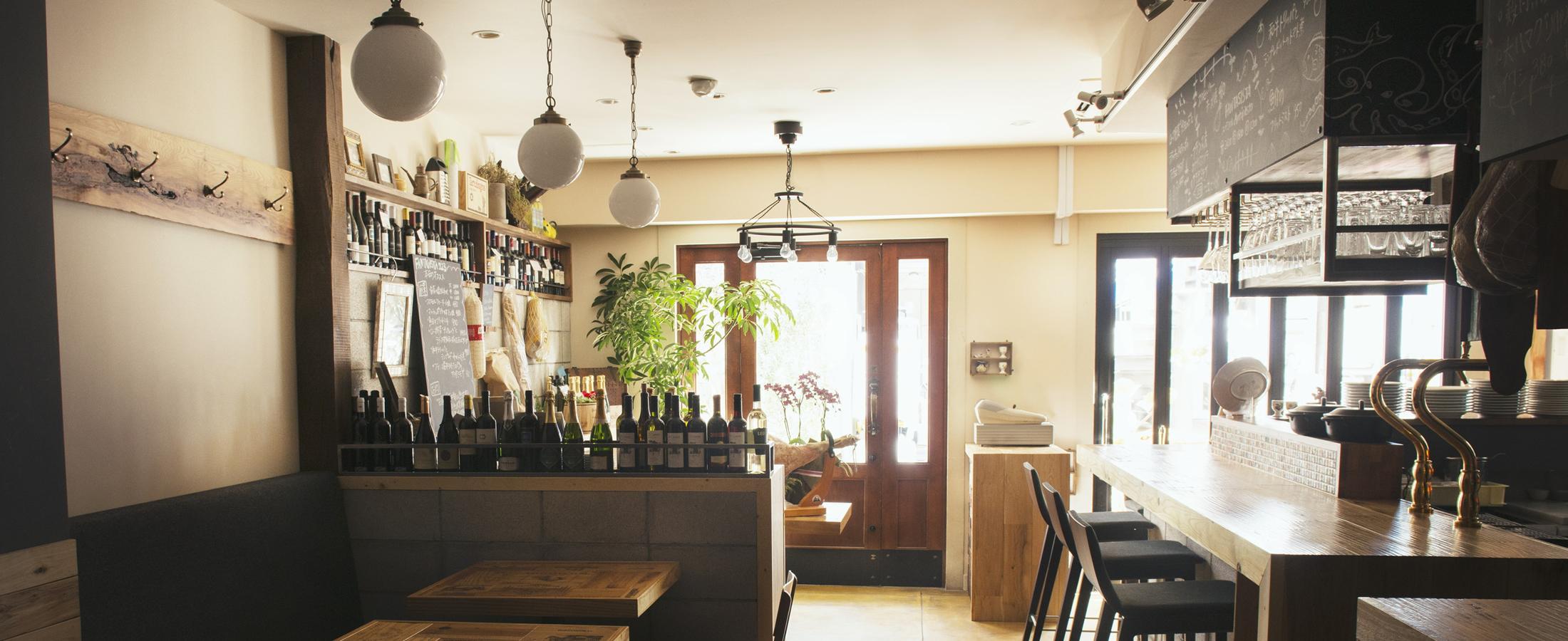 中目黒の窯焼き料理のレストランFANTASISTA223